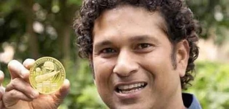 Exclusive gold coin for Tendulkar by East India Co   Politics and Elections in India   Scoop.it