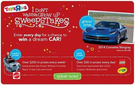 ToysRUs I Don't Wanna Grow Up Sweepstakes!   All My Favorites   Scoop.it