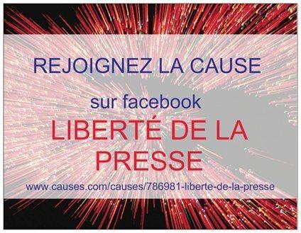LIBERTÉ DE LA PRESSE : AFFICHEZ VOTRE SOUTIEN avec picbadges.com sur facebook ! | INFO POLITIQUE SCOOP     Agence de Presse | Scoop.it