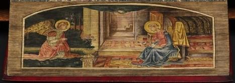 Des peintures cachées dans la tranche des livres (1650-1900) | Archivance - Miscellanées | Scoop.it