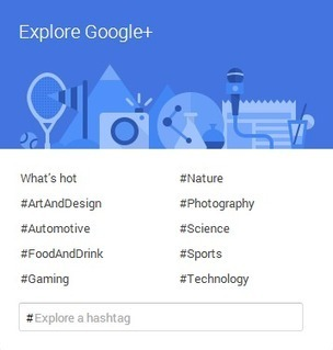 Hashtags on Google+ | Social Media News | Scoop.it