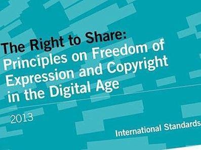 Le Droit de Partager: les principes relatifs au droit à la liberté d'expression et au droit d'auteur à l'ère du numérique | Le BONHEUR comme indice d'épanouissement social et économique. | Scoop.it