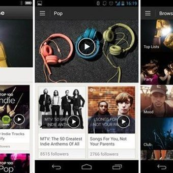 Spotify brings curated playlists to Android and iOS | Mats Djärf | Scoop.it