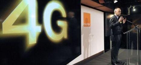 Internet mobile : Orange déploie son réseau 4G à Paris | Nov@ | Scoop.it