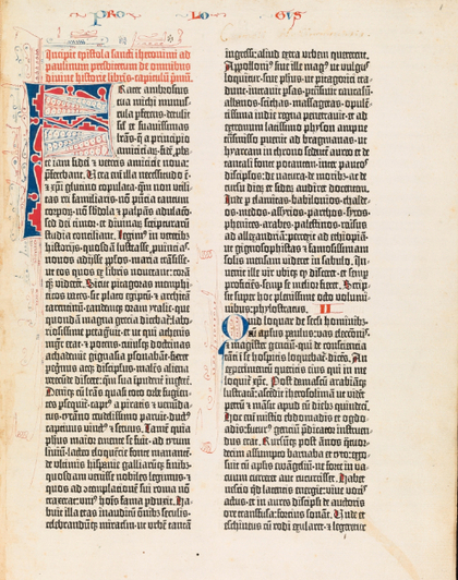 Oxford University Presents the 550-Year-Old Gutenberg Bible in Spectacular, High-Res Detail | Humanidades digitales | Scoop.it