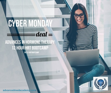 Cyber Monday Deal! Advances in Hormone Therapy. A 12 Hour Boot Camp (Online Course) | Health & Life Extension | Scoop.it