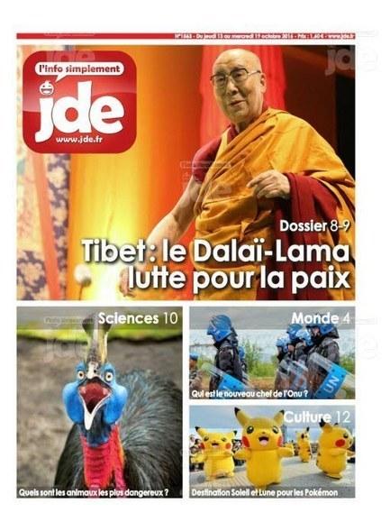 JDE n°1563 (13 au 19 octobre 2016) | Les revues de la médiathèque | Scoop.it