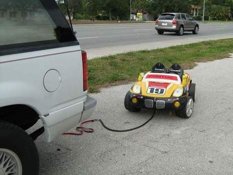 Grandparents drunkenly towed girl behind SUV in toy car, deputies say | MORONS MAKING THE NEWS | Scoop.it