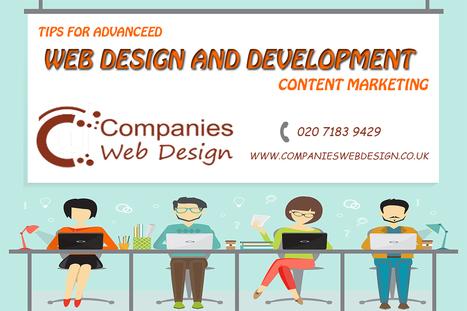 Advanced web design, development techniques and content marketing tips | Companies Web Design Blog | Companies Web Design | Scoop.it