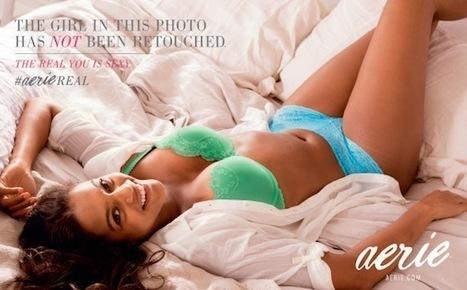 Une campagne de pub pour de la lingerie sans retouches Photoshop | lucileee* | Scoop.it
