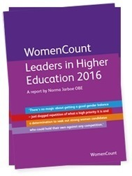 WomenCount: Leaders in Higher Education 2016 | Higher education news for libraries and librarians | Scoop.it