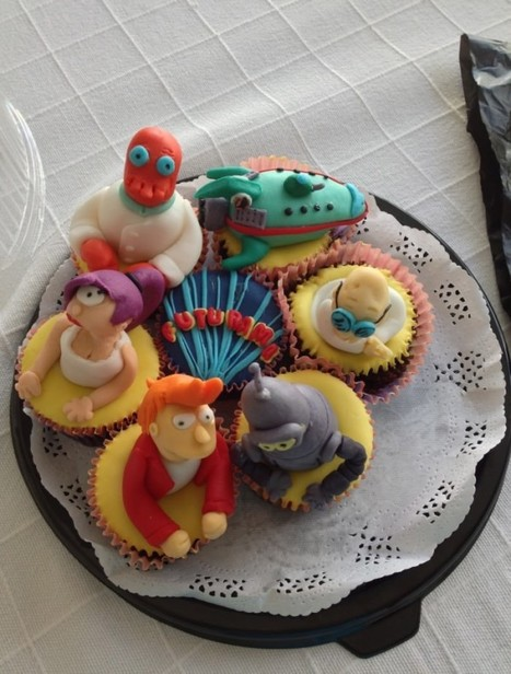 Fantastic Futurama Cupcakes [pic] | Animation News | Scoop.it