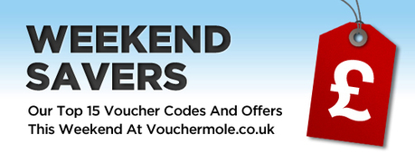 Vouchermole - This weeks top voucher code offers on Vouchermole.co.uk | Great Design Examples | Scoop.it
