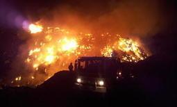 Un très gros incendie dans une décharge | Toxique, soyons vigilant ! | Scoop.it