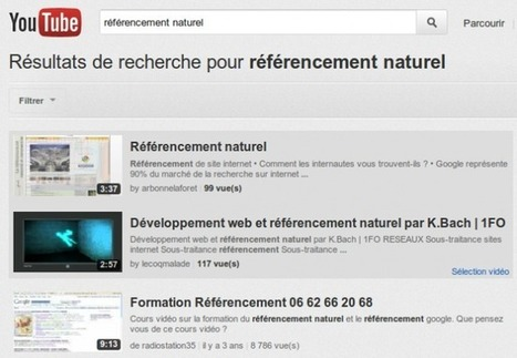 Les 10 commandements du référencement sur Youtube | SocialWebBusiness | Scoop.it