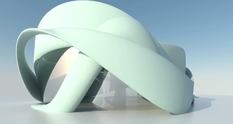 Le premier bâtiment européen imprimé en 3D - 3Dnatives | Univers cellule agile robotisée | Scoop.it
