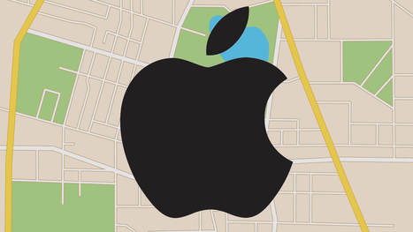 Apple hopes to enhance maps with indoor location and drone data collection | Current Web Design & Development | Scoop.it