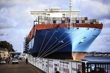 Giant Maersk ship docks in Copenhagen on maiden voyage | Maritime Issues | Scoop.it
