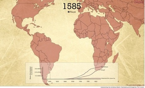 The Atlantic Slave Trade in Two Minutes | Humanidades digitales | Scoop.it