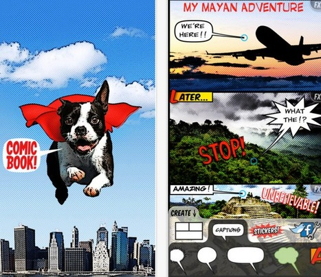 7 Great iPad Apps for Creating Comic Strips | Education, Technology and Storytelling | Scoop.it