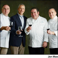 José Andrés, Emeril Lagasse, Danny Meyer and Jean-Georges Vongerichten take on a a challenge of plating and pairing | Vitabella Wine Daily Gossip | Scoop.it