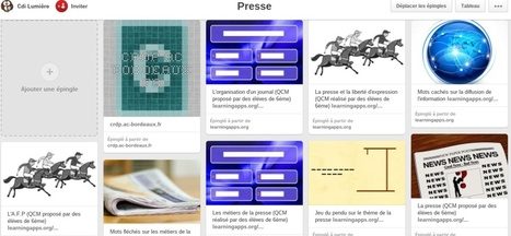 Utiliser Pinterest en documentation | Formation Pédagogique | Scoop.it