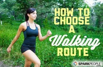 Choosing a Walking or Running Route | One Step at a Time | Scoop.it
