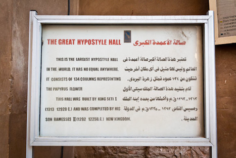 Ancient Egypt Temples in Luxor (@GetYourGuide) | History | Scoop.it