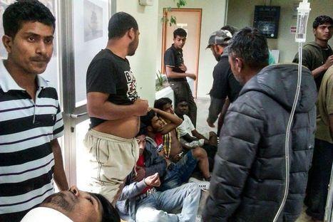 Grèce : 200 travailleurs agricoles migrants canardés par leurs superviseurs pour avoir osé réclamer leur paie !!! | Les Verseurs d'Eau | Scoop.it