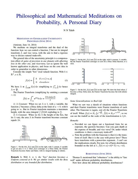 ProbabilityMeditations.pdf - Google Drive | Bounded Rationality and Beyond | Scoop.it