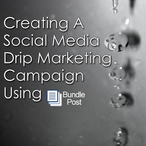 Creating A Social Media Drip Marketing Campaign - How We Launched 2.0   Marketing   Scoop.it