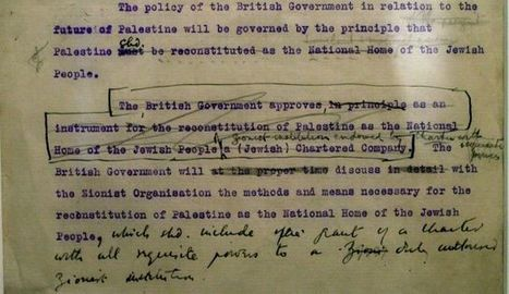 Reality behind the myths of the Balfour declaration | Grade 11 | Scoop.it