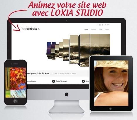 Loxia Studio Fr Licence gratuite Animations pour Site Web et Blogs - Actualités du Gratuit | WEB | Scoop.it