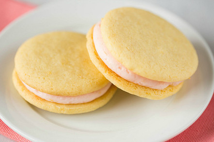 Pink Grapefruit Sandwich Cookies | Sweet Recipes | Scoop.it