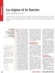 La région et le foncier. Quelle légitimité d'action ? ETUDES FONCIERES | Développement territorial | Scoop.it