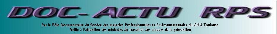 DOC-ACTU Risques psychosociaux