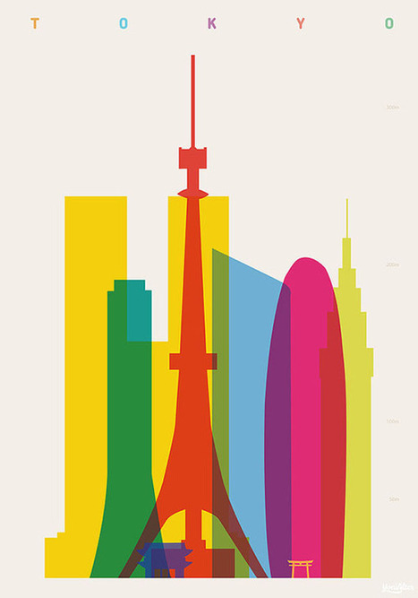 Shapes of Cities – Art Prints by Yoni Alter | PLASTICA VISUAL | Scoop.it