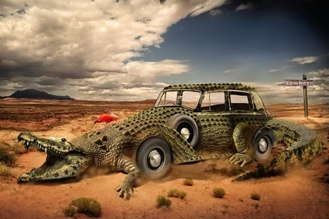 Combine a Crocodile with a Car to Create an Exotic Crocomobile in Photoshop | The Official Photoshop Roadmap Journal | Scoop.it
