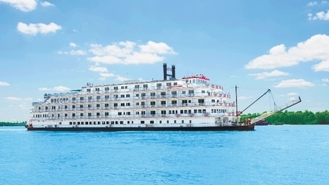 American Cruise Lines' New Paddlewheeler Casts Off On the Mississippi | River Cruise News | Scoop.it