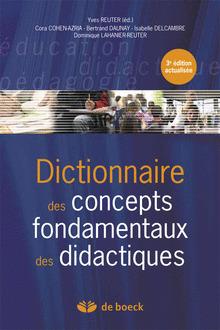 Dictionnaire des concepts fondamentaux des didactiques - 3ème édition actualisée | Nouveautés juillet 2013 | Scoop.it