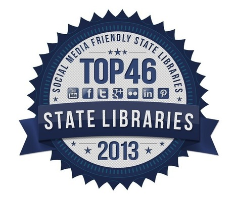 Most Social Media Friendly State Libraries for 2013 | LibraryScienceList.com | Vloasis vlogging | Scoop.it