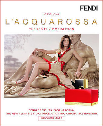 Fendi's dual promotion for fragrance reaches wider audience - Luxury Daily - Internet | Social media et Luxe | Scoop.it
