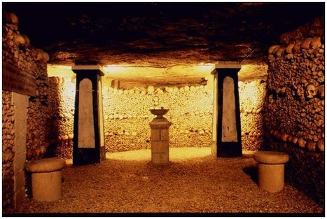 The Amazing Catacombs in Paris France   French4WASH   Scoop.it