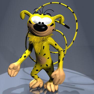 Marsupilami cartoon 3D | boudabza | Scoop.it