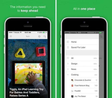 Feedly sort sur l'Apple Watch et améliore sa recherche sur iPhone et iPad | RSS Circus : veille stratégique, intelligence économique, curation, publication, Web 2.0 | Scoop.it