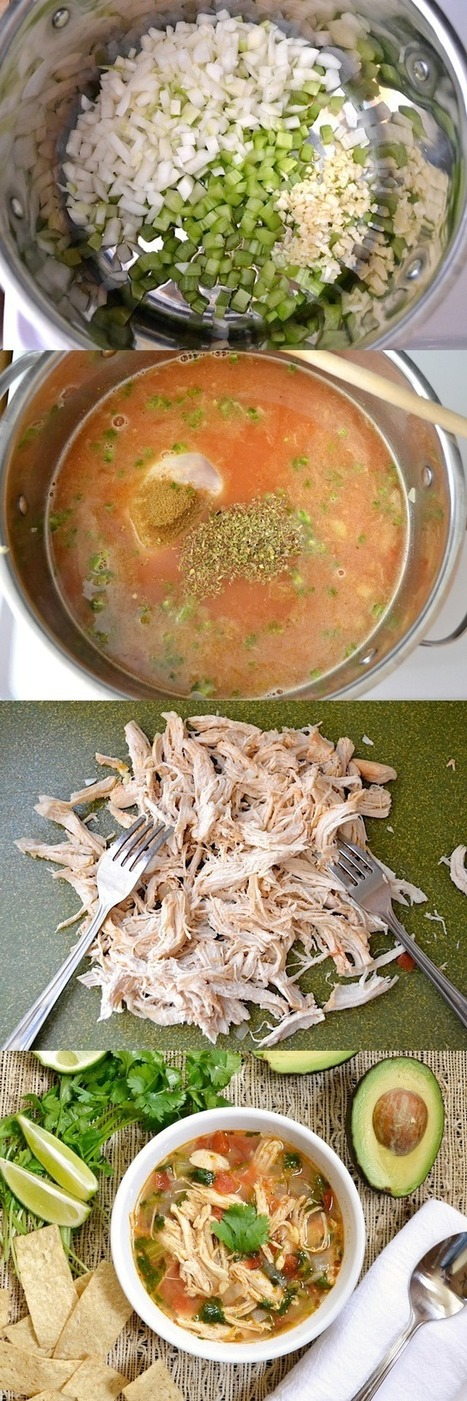 Chicken & Lime Soup Recipe - Food And Drink For You | ♨ Family & Food ♨ | Scoop.it
