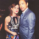 Emma Watson and Robert Downey junior. That is all. - via @Potteristic | Le super topic & Michel | Scoop.it