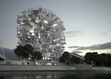 "Sou Fujimoto designs nature-inspired tower for Montpellier ""modern follies"" project 
