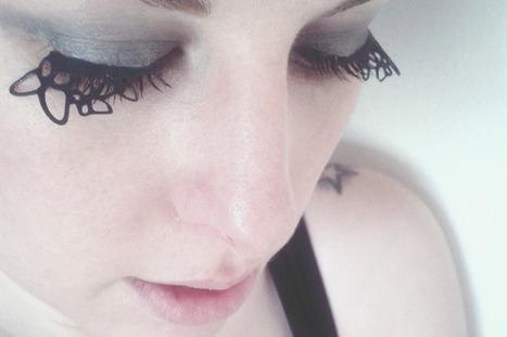 DIY Tutorial: Paper Cut Eyelashes | Non solo weddings | Scoop.it