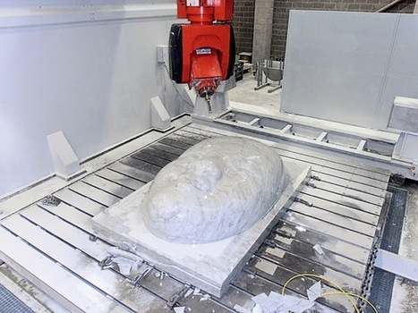 Breton Shapemill - the perfec 5 axes stone working centre for marble, granite and engineered stone.   Breton SHAPEMILL   Scoop.it